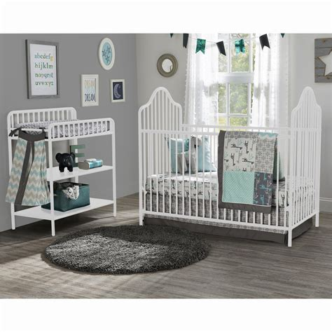 brass cribs and changing tables